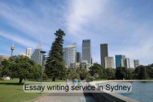 Essay writing service in Sydney