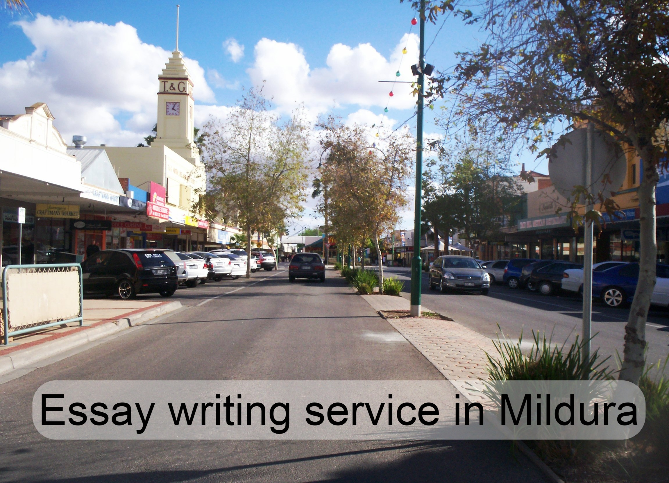 Essay writing service in Mildura