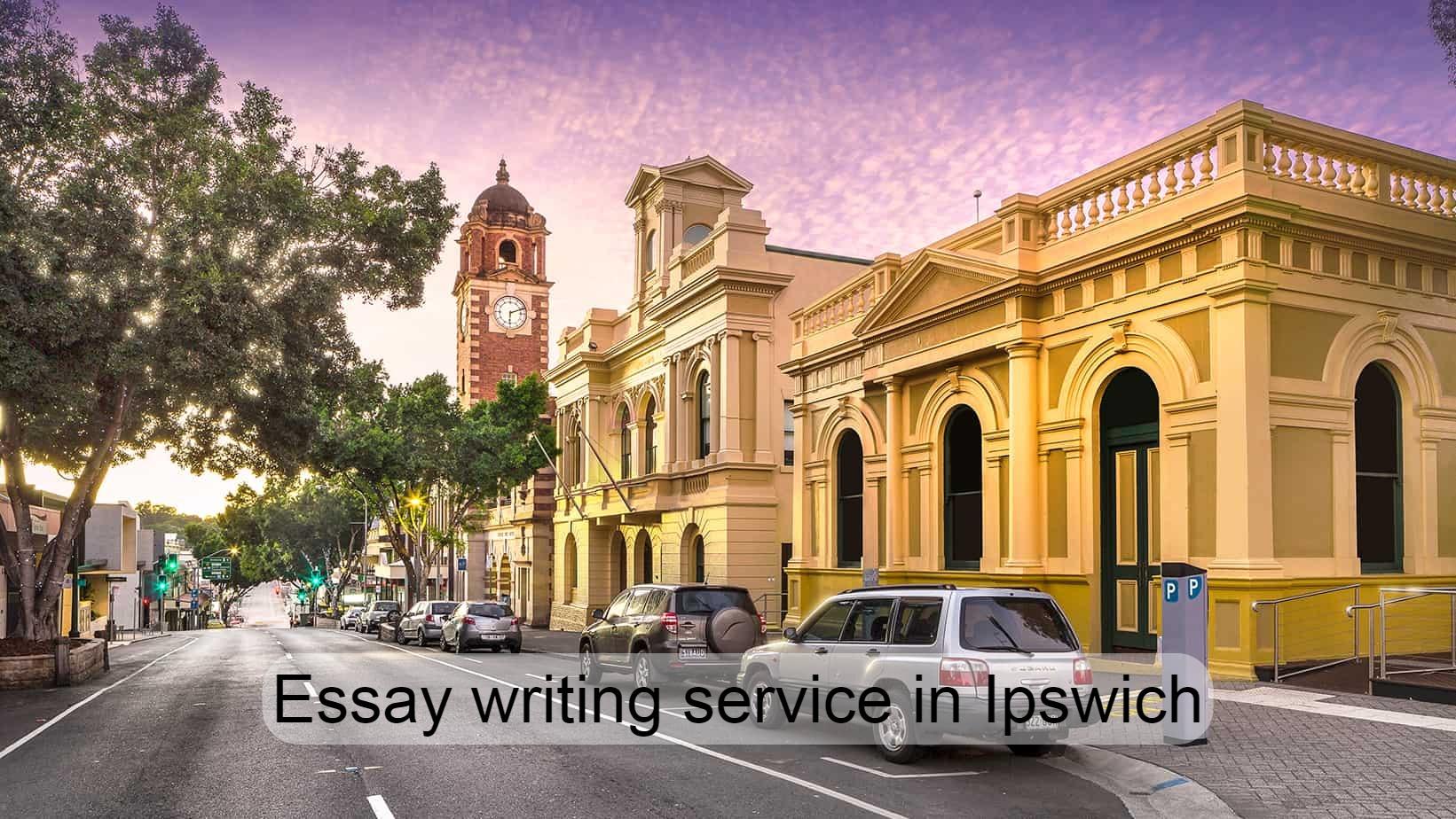 Essay writing service in Ipswich