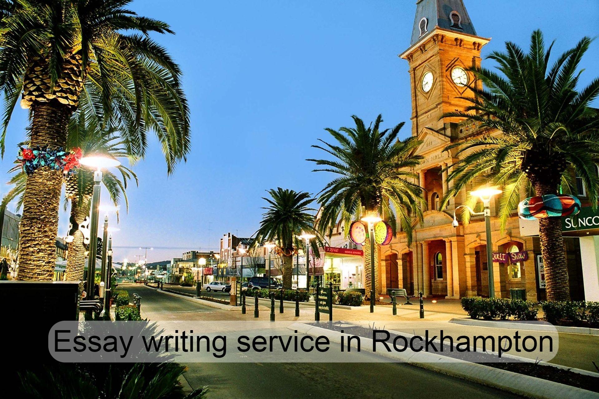Essay writing service in Rockhampton
