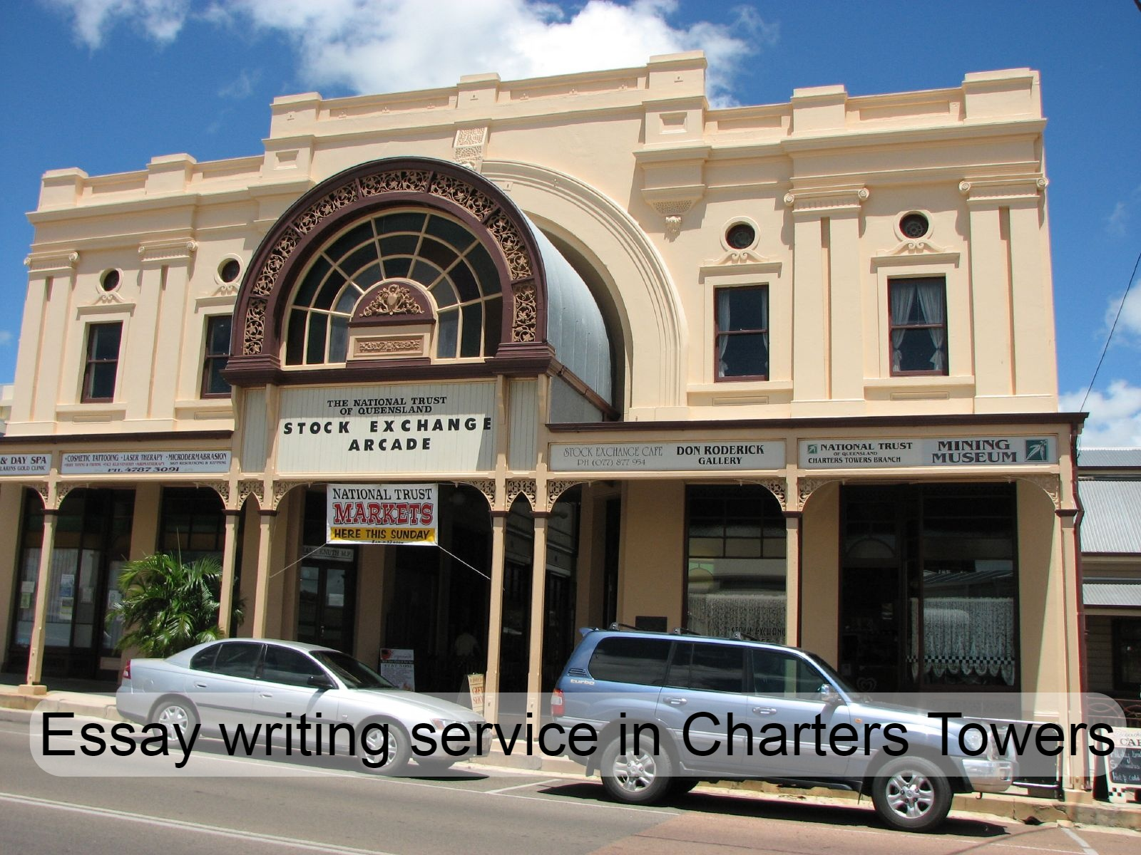 Essay writing service in Charters Towers