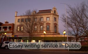 Essay writing service in Dubbo