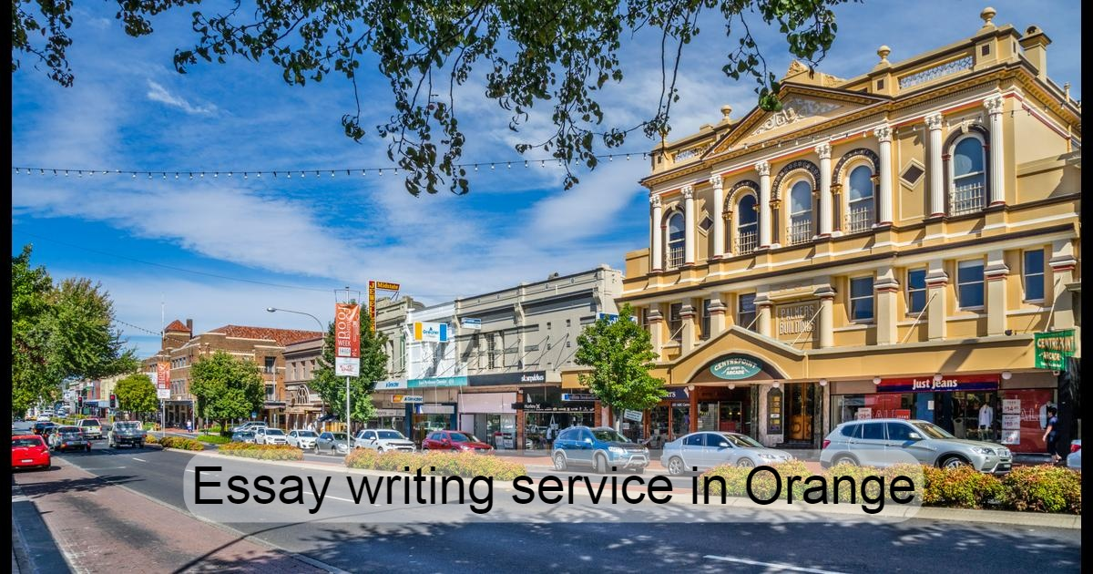 Essay writing service in Orange